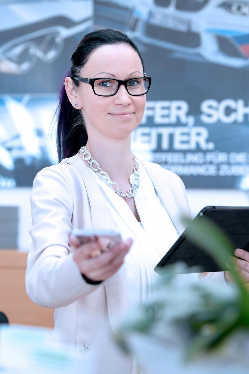 Susanne Gromball - Serviceassistentin