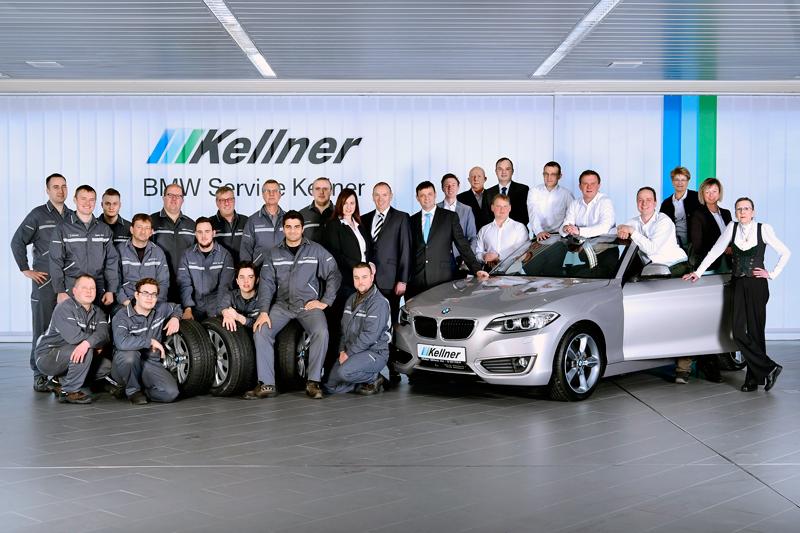 Das Team der Autohaus Kellner Erfurt GmbH
