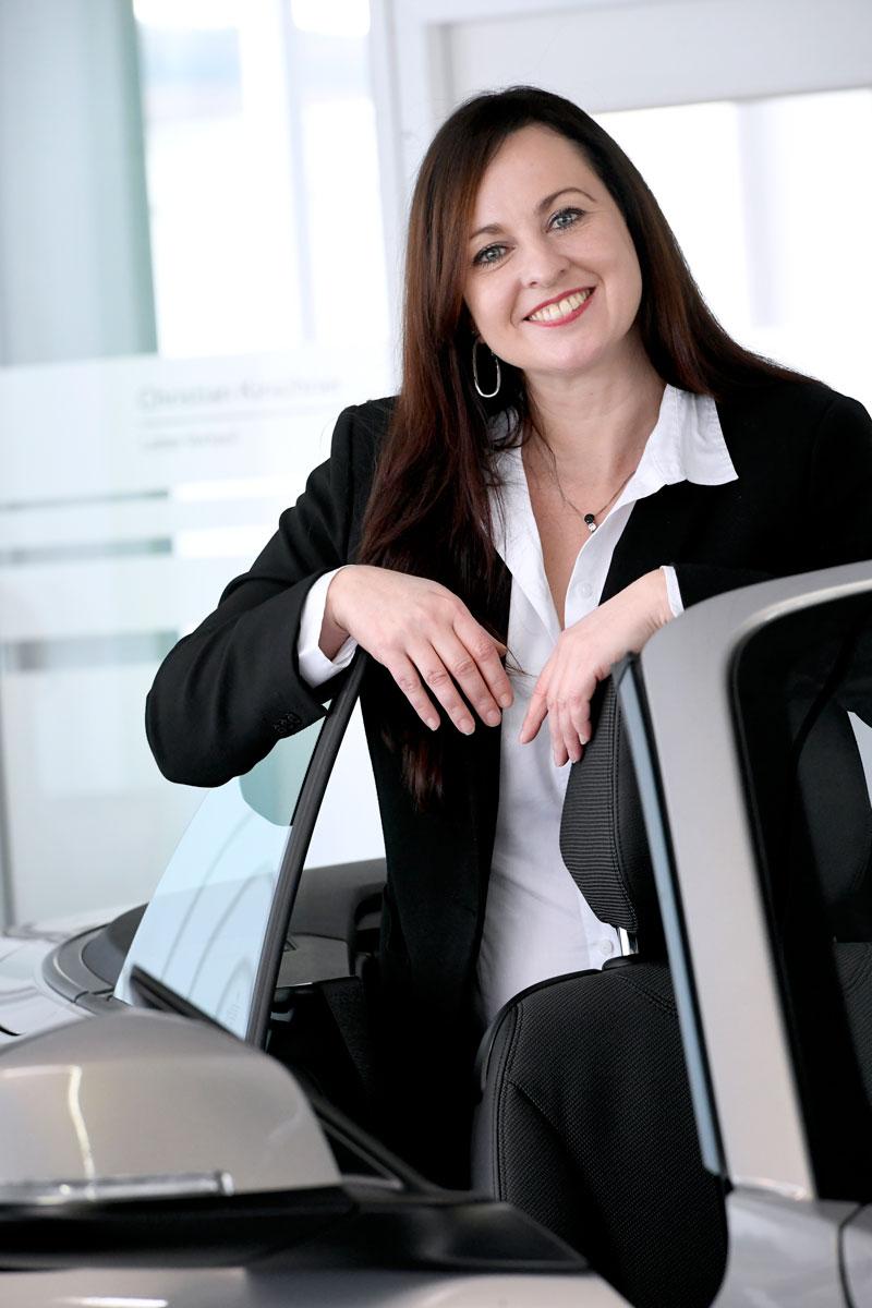 Nicole Kellner, Geschäftsführerin