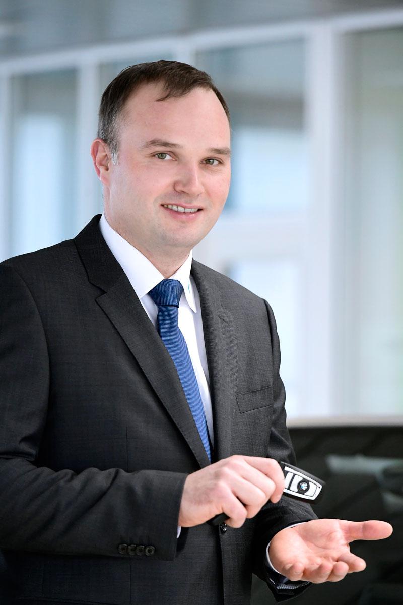 Christian Kirschner, Leiter Verkauf